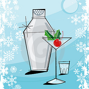 Retro-style-christmas-martini-thumb3056826